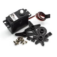 OTY 10 Por Lote RC Robôs DS04-NFC 360 Graus de Rotação Contínua Servos DC Motor Engrenagem Livre Expedido Envio