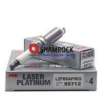 оригинальный NGK Laser Teile Платина свечи зажигания NGK LZFR6AP11GS 95712 12120037663 подходит для 2009-2013 BBMW 128i 328i 528i X3 X5 Z4