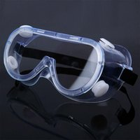 New totalmente fechados PC Limpar Lens óculos de segurança à prova de respingos exterior Anti-Sneeze Líquido Esporte Goggle Motobike Ciclismo Goggle