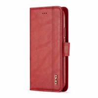 Роскошный кожаный кожаный кожаный кошелек 2 в 1 Магнитные Flip Cass для iPhone X XS MAX XR Слот карты Урожай крышка нарифон 6S 6 7 8 плюс