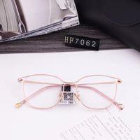 New oca olho de gato frame ótico estrutura metálica óculos plana de aço inoxidável peça importada bobina modelo de negócio fio 7062 tamanho 51-20-145