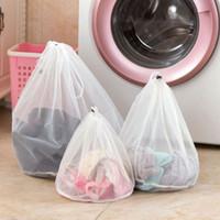 나일론 세탁 세탁 가방 접이식 휴대용 세탁기 전문 속옷 가방 세탁 가방 메쉬 세척 가방 파우치 바구니 BH2111 CY