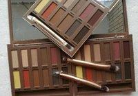 Maquillage palette de chaleur palette de pauche tache ombre 12 couleurs oreillettes haute qualité chaud 2018 livraison gratuite