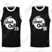 Cheap custom Retro Basketball Jersey 23 96 Tournament Shooto...