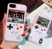 مصغرة المحمولة ألعاب حالة الهاتف لiphone11 الموالية بحد أقصى 6 7 8 8plus XS ماكس XR السيليكا الغطاء الواقي الرجعية لعبة لاعب كلاسيكي
