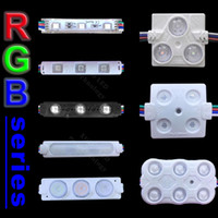 3000 قطعة / الوحدة مرحبا- q led وحدات rgb سلسلة وحدة الإعلان ضوء 0.72 واط 2 واط 3 واط تسجيل الإضاءة الخلفية ip65 للماء dc 12 فولت