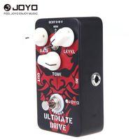 JOYO JF-02 Pedal de efecto de guitarra Diodo superado Amplificador de válvulas Overdrive de Ultimate Drive Overdrive de sobre-distorsión