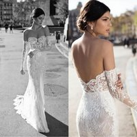 Gali Karten 2019 Off The Shoulder Mermaid Wedding Dresses La...