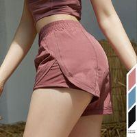 Дизайнер L-01 Йога Короткие штаны женские шорты для бега Дамы Повседневный Йога для взрослых Костюмы Спортивная одежда Девушки упражнения Фитнес-одежда