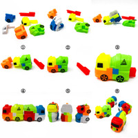 Funny Model Compatible Snack Car Models Building Kits Blocks...