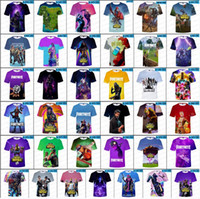 T-shirts Fortnite 3D 85 STYLES T-shirts Fortnite Tops Hauts taille adulte XXS-4XL taille enfants 110-160 T-shirts Hommes Fortnite Hot Game Cosplay Vêtements