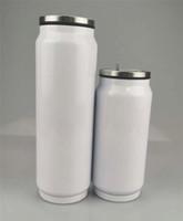 17oz التسامي بهلوان مزدوجة فراغ جدار زجاجة مياه من الصلب المقاوم للصدأ كأس العزل شرب قارورة مع BPA خالية فوهة المحمولة كأس A02