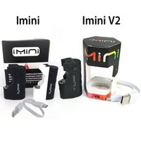 Imini TH210 vape Cartridges Kit mit TH210 Cartridge 500mAh 650mAh Vape Stift vorheizen Box Mod Fit Freiheit v9 v10 v14 MT6 G5 G2