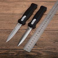 Haut! Benchmade Infidèle double action couteaux automatiques 3310 D2 couteau en acier EDC Pocket BM42 tactique de survie avec engrenage gaine en nylon BM550 940