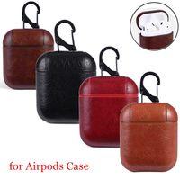 بو الجلود هوك المشبك المفاتيح مكافحة فقدت الأزياء سماعات التفاح airpod سماعة حالات حالات حافظات للطائرات airpods