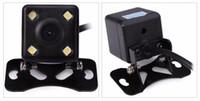 Promoção Novo 120 Graus Câmera de Visão Traseira Universal À Prova D 'Água HD CCD 4 LED Night Vision Câmera Retrovisor Do Carro Estacionamento AssistanceFree envio