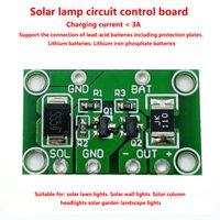 المناظر الطبيعية المراقب مصباح المصباح الشمسي تحكم السيطرة 3.2V 3.7V 6V 12V 1A ضوء الطاقة الشمسية في الحديقة مصباح الطاقة الشمسية المراقب المالي