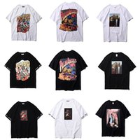 2019 Nuovi Palm Angels T-Shirt Uomo Donna Hip Hop Casual Palm Angels T Shirt Streetwear Stampa 3D Pittura Palm Angels Magliette