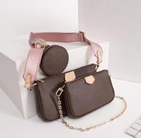 Nuova migliore qualità Multi Pochette Accessories Designer Borse delle donne borse più recenti di donne di arrivo insacca con box model M44813 M44840