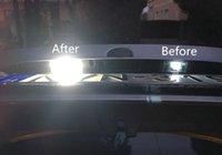 Para BMW Serie 3 E46 2D M3 2004 2005 2006 Canbus Car LED Luces de la placa de matrícula 12V blanco SMD3528 LED placa de número bombilla de la lámpara