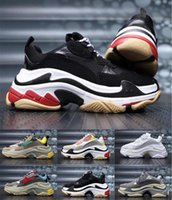 2019 Fashion Paris 17FW Triple- S Sneaker Triple S Casual Dad...