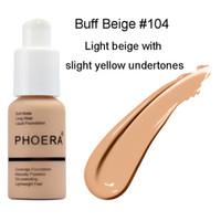 Brand Trucco Foundation Concealer Phoera opaco olio-conscrile liquido 10 colori