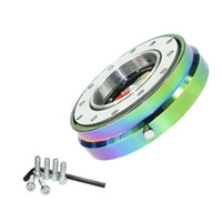 -Thin Version 6 Hole Steering Wheel Quick Release Hub Adapter Steering TT100951