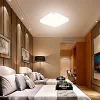 Prosta nowoczesna lampa sufitowa LED kwadratowy salon lampa sypialnia lampa jadalnia balkon korytarz AISLE LAM P Lampy inżynieryjne Lampy nocne