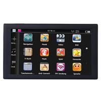Carnavigation GPS 9inch LCD 용량 성 화면 2백56메가바이트 8G 메모리 FM 트랜스미터 위성 항법 무료로 최신지도