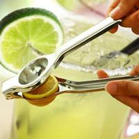 Paslanmaz Çelik Limon Sıkacağı Narenciye Portakal Meyve Hızlı manuel Sıkacağı Kireç taze meyve suyu Mutfak gadget Basarak Araçları yüksek kalite