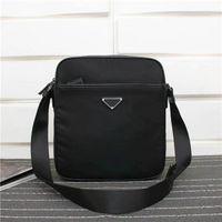 Küresel ücretsiz kargo klasik lüks paket Tuval deri inek derisi erkek omuz çantası en kaliteli çanta 002 boyutu 28 cm 24 cm 8 cm