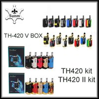 Kangvape TH420 V Box Mini Mod TH-420 ii kit fit 510 thread Vape Pen 650mAh 800mAh Batteria a tensione variabile vs kit mini k