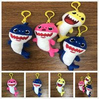 Hot Fashion Cute Baby Shark Kids juguetes de peluche Home Party Charms colgante de regalo decoraciones envío gratis