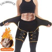 Caloreduce Kadınlar Neopren Uyluk Giyotin İnce Bel Tranier Vücut Şekillendirici Butt kaldırıcı Shaperwear Egzersiz Fitnes Karın Kontrol Kemer T200529