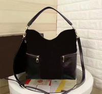 Famoso Marca Mulheres Genuíno Bolsa De Couro Bolsa M41544 Melie Ombro Bag CX # 313 Tenha correios Bolsa frete grátis