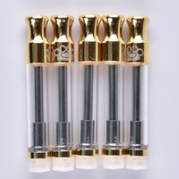 Free DHL Brass Knuckles Gold Cartridges Dual Ceramic Cotton ...
