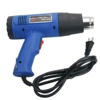 Pistola di calore a doppia temperatura a doppia temperatura 1500W con punte concentratore in acciaio inox 4pcs blu