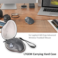 Estojo rígido para transporte LTGEM EVA para MX ERGO Advanced Wireless Trackball Mouse