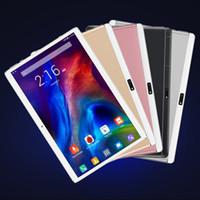 2021 고품질 Octa 코어 10 인치 태블릿 PC MTK6592 IPS 용량 성 터치 스크린 듀얼 SIM 3G Android 7.0 1GB RAM 16GB ROM 케이스
