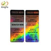 scratch adesivo personalizzato off ologramma adesivo