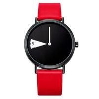 Sinobi Kadınlar İzle Yaratıcı Kol Lady Saat Döndür Sarı Deri Bant saatı Saat Montres Femme Reloj Mujer