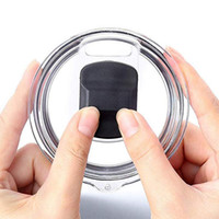 New Plastic prova coperchio magnetico fuoriuscita di tazze di caffè coperchi a tenuta coperchio DHL liberano 20 once 30 once tazze coperchi ZZA1511