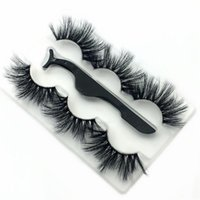 NEW 3Pairs set 25mm Fake 3D Mink Eyelashes Natural Soft Fals...