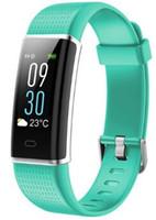 ID130C Pulsmesser Smart Armband Fitness Tracker Smart Uhren GPS Wasserdichte Smartwatch Für iPhone Android Phone Watch PK DZ09 U8