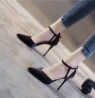 2020 المرأة الجديدة عالية الكعب اللباس الأحذية حزب الفتيات مثير أشار تو أحذية مشبك منصة مضخات أحذية الزفاف اللون الوردي الأسود