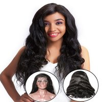 Mink Virgin Indian Human Hair Lace Front Wigs Body Wave Fron...