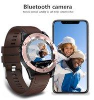 Akıllı İzle Erkekler SW98 Destek SIM Kart Pedometre Kamera Bluetooth Smartwatch Android 380 MAH için Büyük Pil 1.54 Inç Ücretsiz Kargo