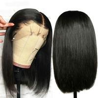 Shows Shine Bob Wig Brazilian Straight Short Lace Front Huma...