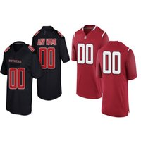 New Arrival. Custom Rutgers Scarlet Knights College Football Red Black White  Stitched Any Name Number  3 Jalen Chatman 95 Justin Davidovicz Jerseys S-4XL d9336729c