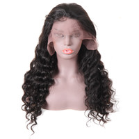 10A Brazilian Human Hair Lace Front Wigs Peruvian Hair Loose...